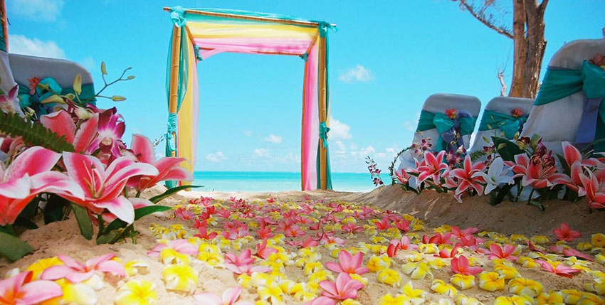 Beach Wedding India
